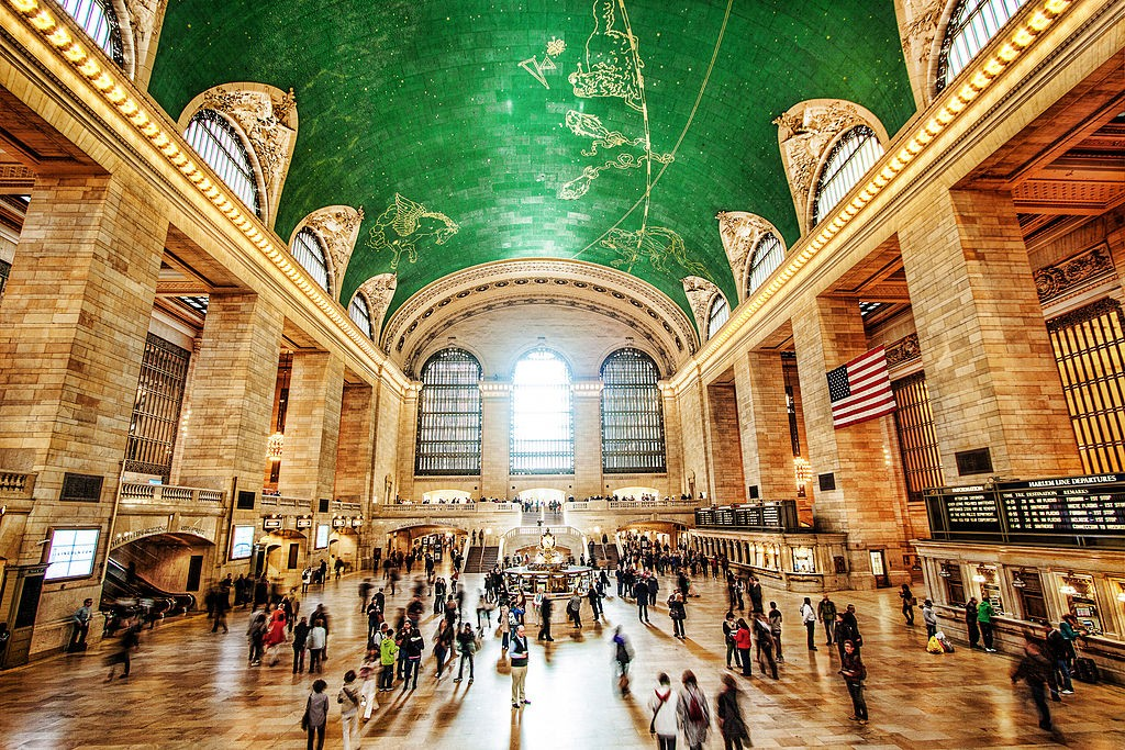 The beautiful Grand Central Station has been featured in many films over the years.