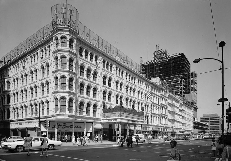 The original Lits Building was THE for Philadelphia's fashionistas to buy the latest trends.